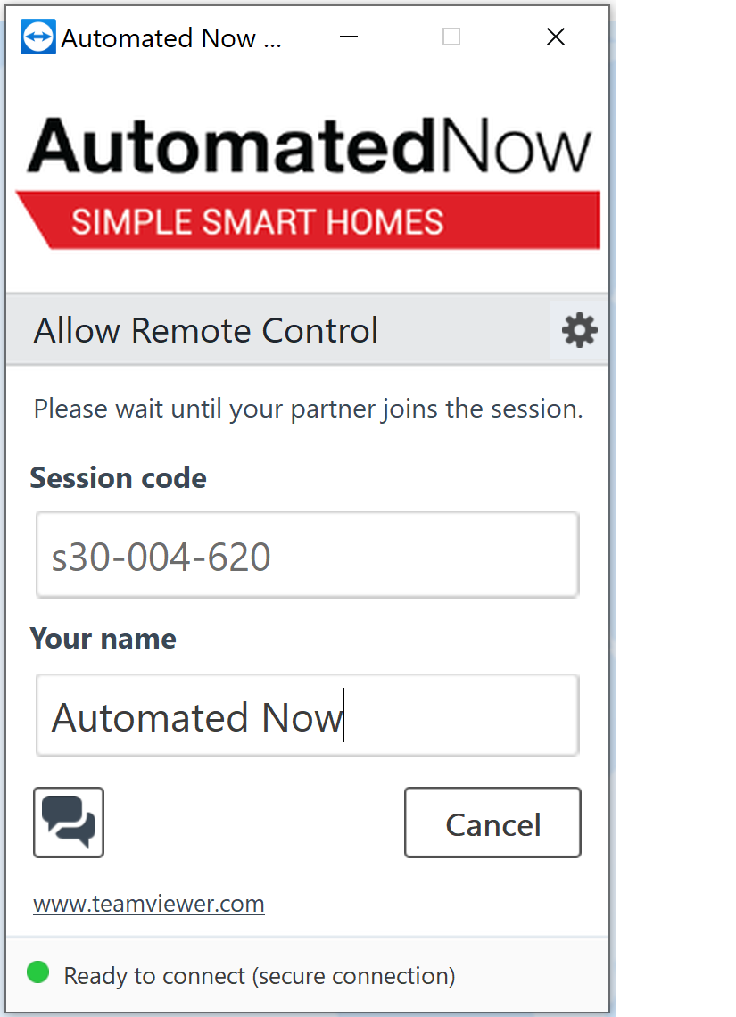 Automated Now Quick Support